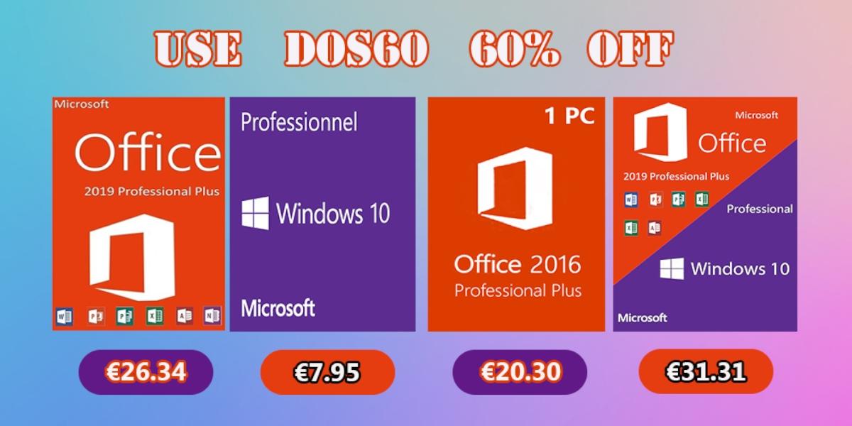 Software od Microsoftu a ještě mnohem více nyní ve skvělých slevách [sponzorovaný článek]