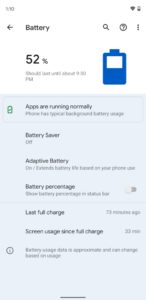android 12 battery settings 498x1024x