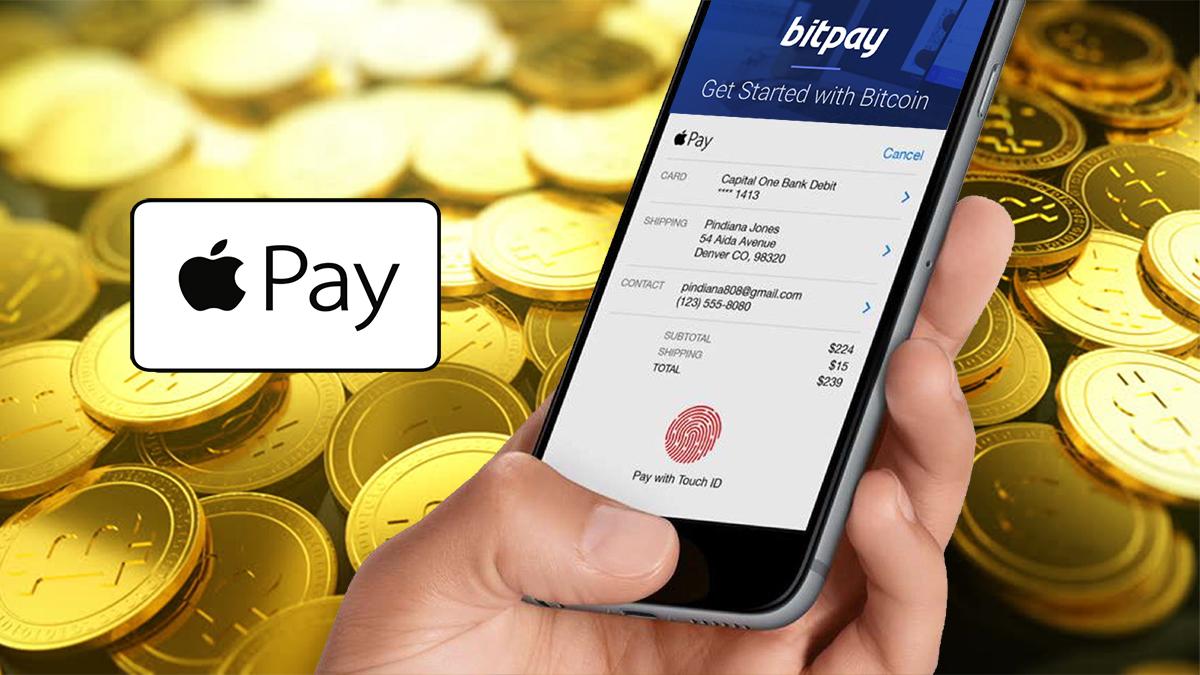 Apple Pay umožní uživatelům nákupy bitcoinem prostřednictvím služby BitPay