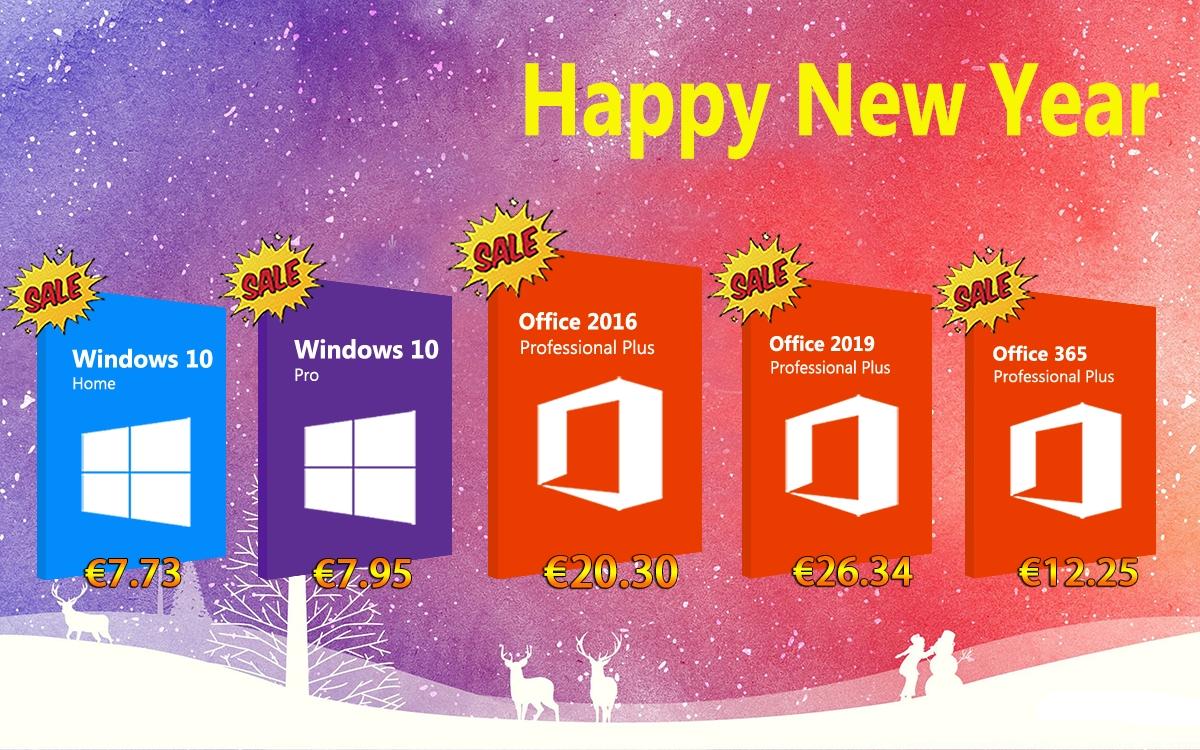 Velká akce: Windows 10 Pro za 7.95 EUR a Office 2016 Pro za 20.30 EUR [sponzorovaný článek]