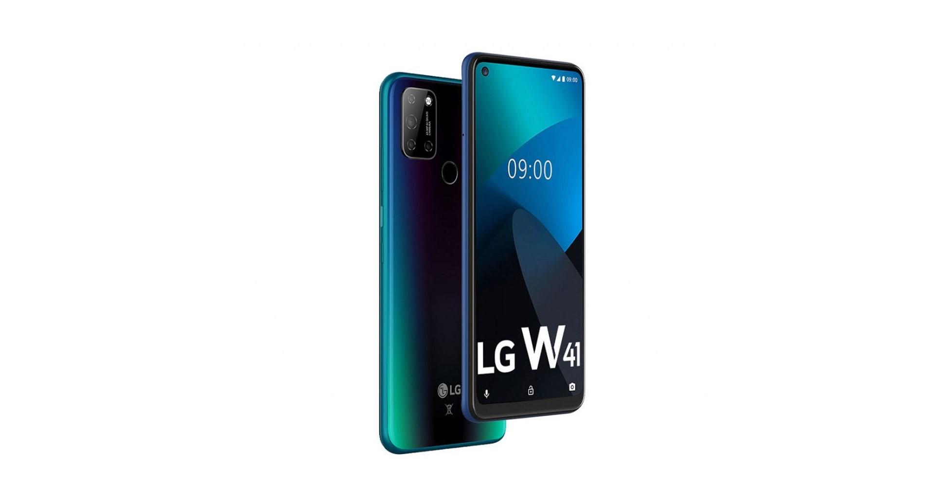 LG představilo modely W41, W41+ a W41 Pro
