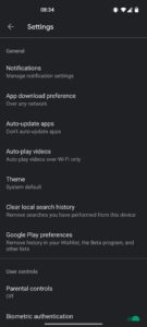play store settings 1080x2400x