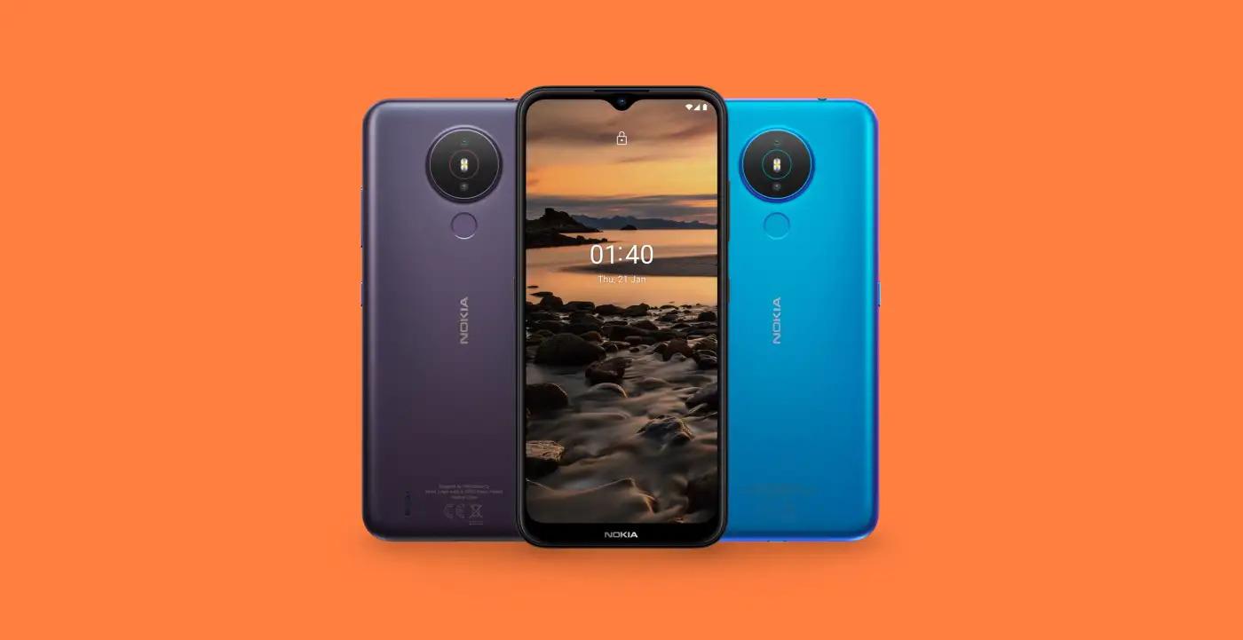 Nokia 1.4 oficiálně – větší baterie, speciální tlačítko a microUSB