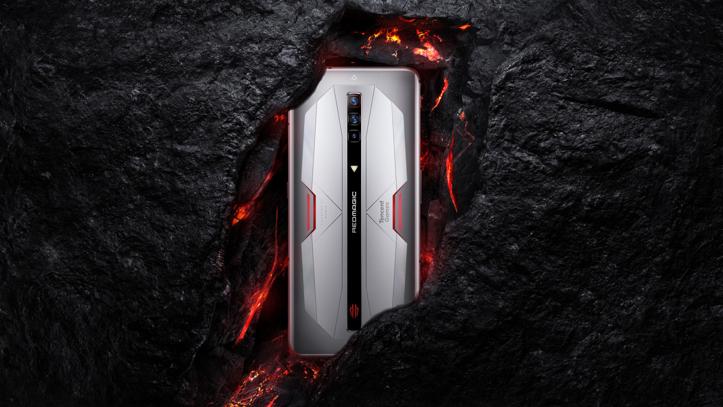 Nubia představila Red Magic 6 a 6 Pro, nové herní mobily