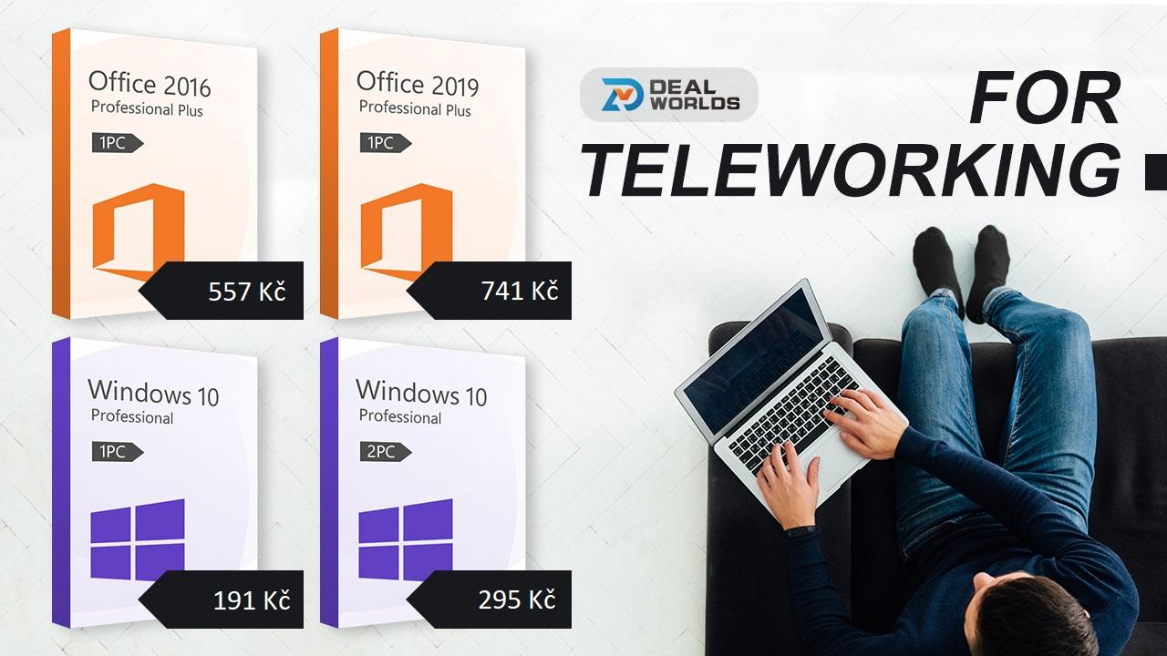 Bombastické slevy na produkty Windows 10 a Office na Dealworlds.com! [sponzorovaný článek]