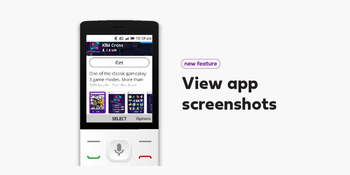 KaiOS testuje nové uživatelské rozhraní pro KaiStore