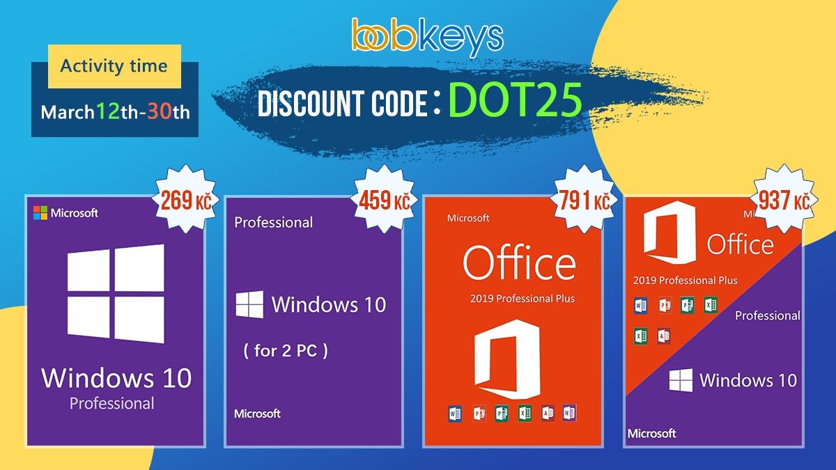 Využijte poslední šanci získat Windows 10 a MS Office za ty nejlepší ceny! [sponzorovaný článek]