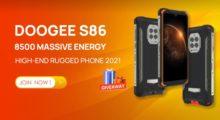 Odolné DOOGEE S86 může být vaše již od 100 dolarů, DOOGEE navíc chystá také skvělý giveaway! [sponzorovaný článek]