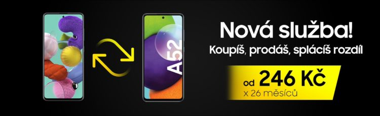 Galaxy A52 upgrade 2402x734x