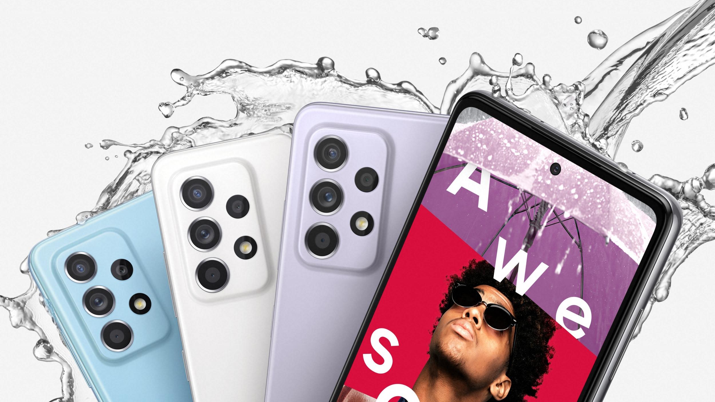 Samsung představil Galaxy A52 a Galaxy A52 5G