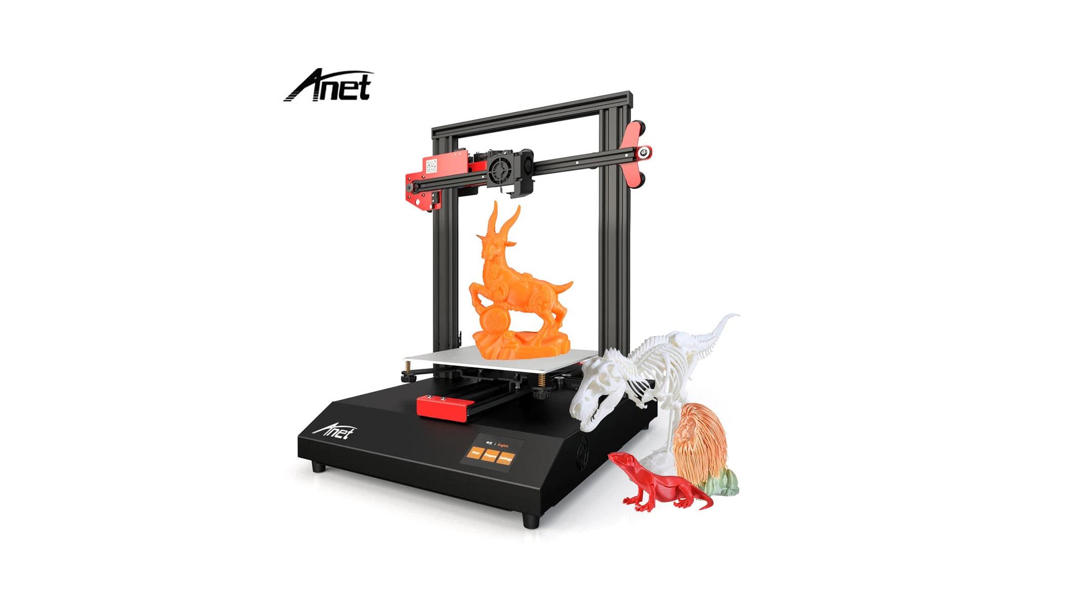 Kupte si 3D tiskárnu Anet již za 2 825 Kč a rovnou z českého skladu! [sponzorovaný článek]
