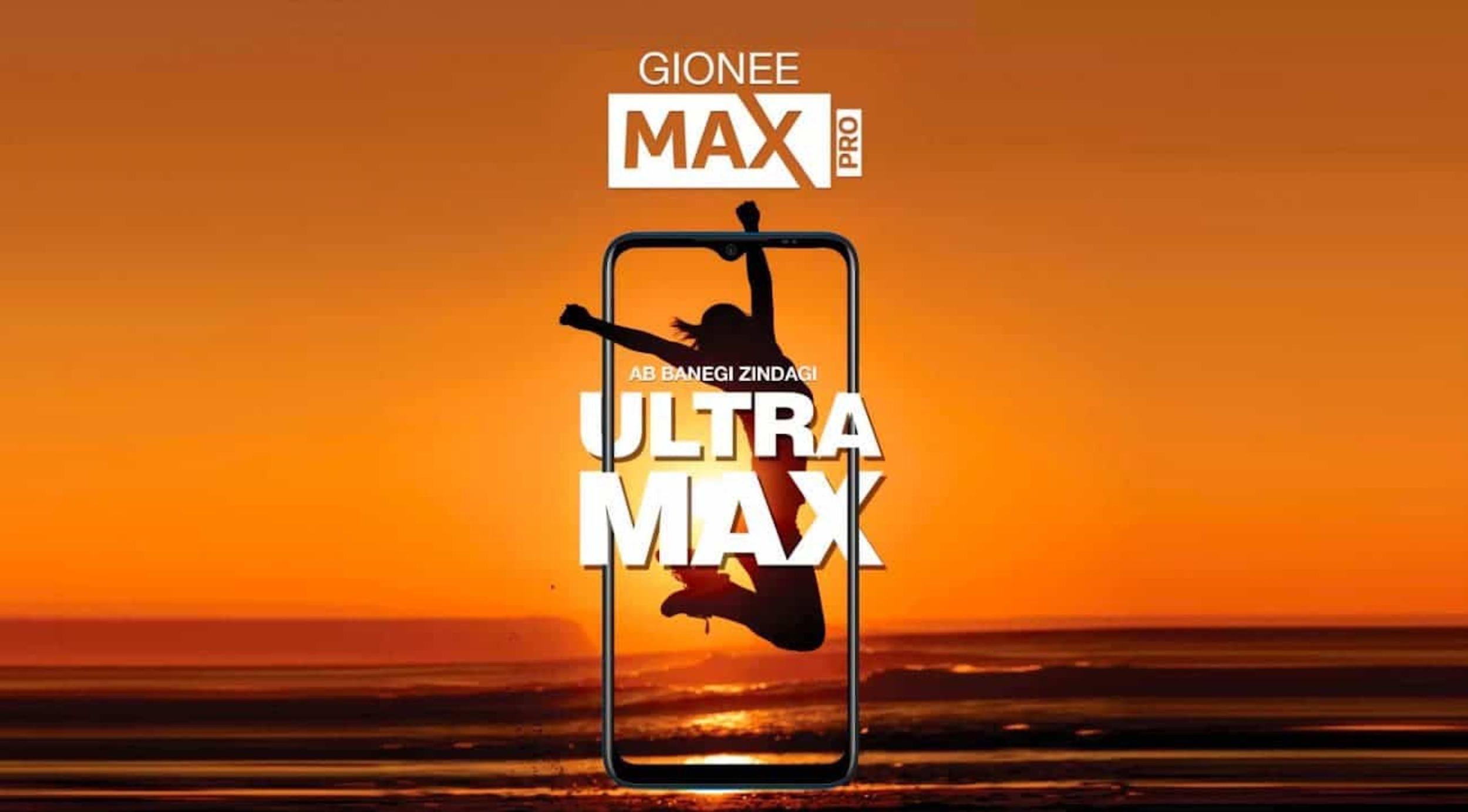 Gionee se připomíná modelem Max Pro