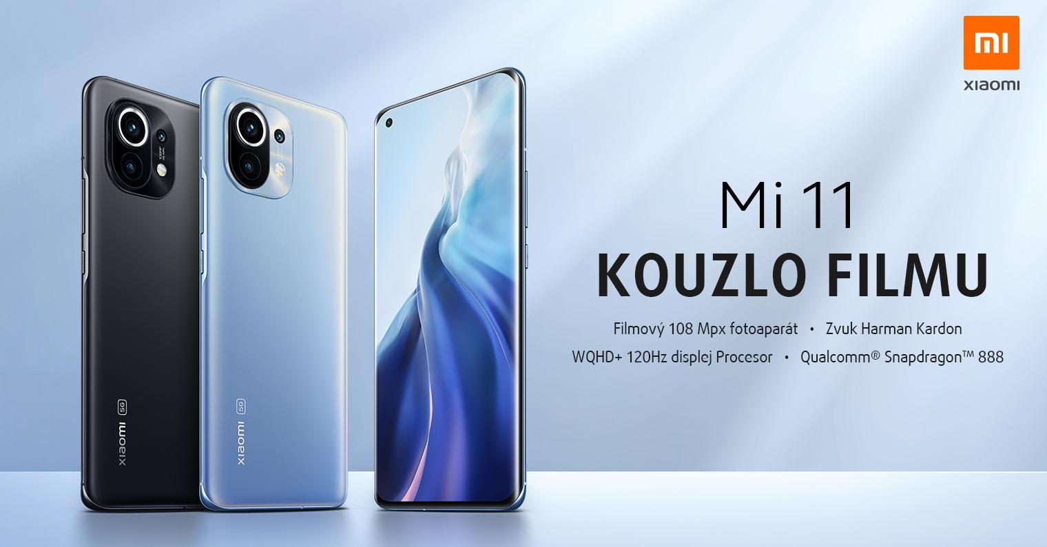 Už je konečně tady! Xiaomi Mi 11 nyní s dárkem a zárukou na sklo [sponzorovaný článek]