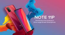 Povedený Note 11P od Ulefone známe oficiálně