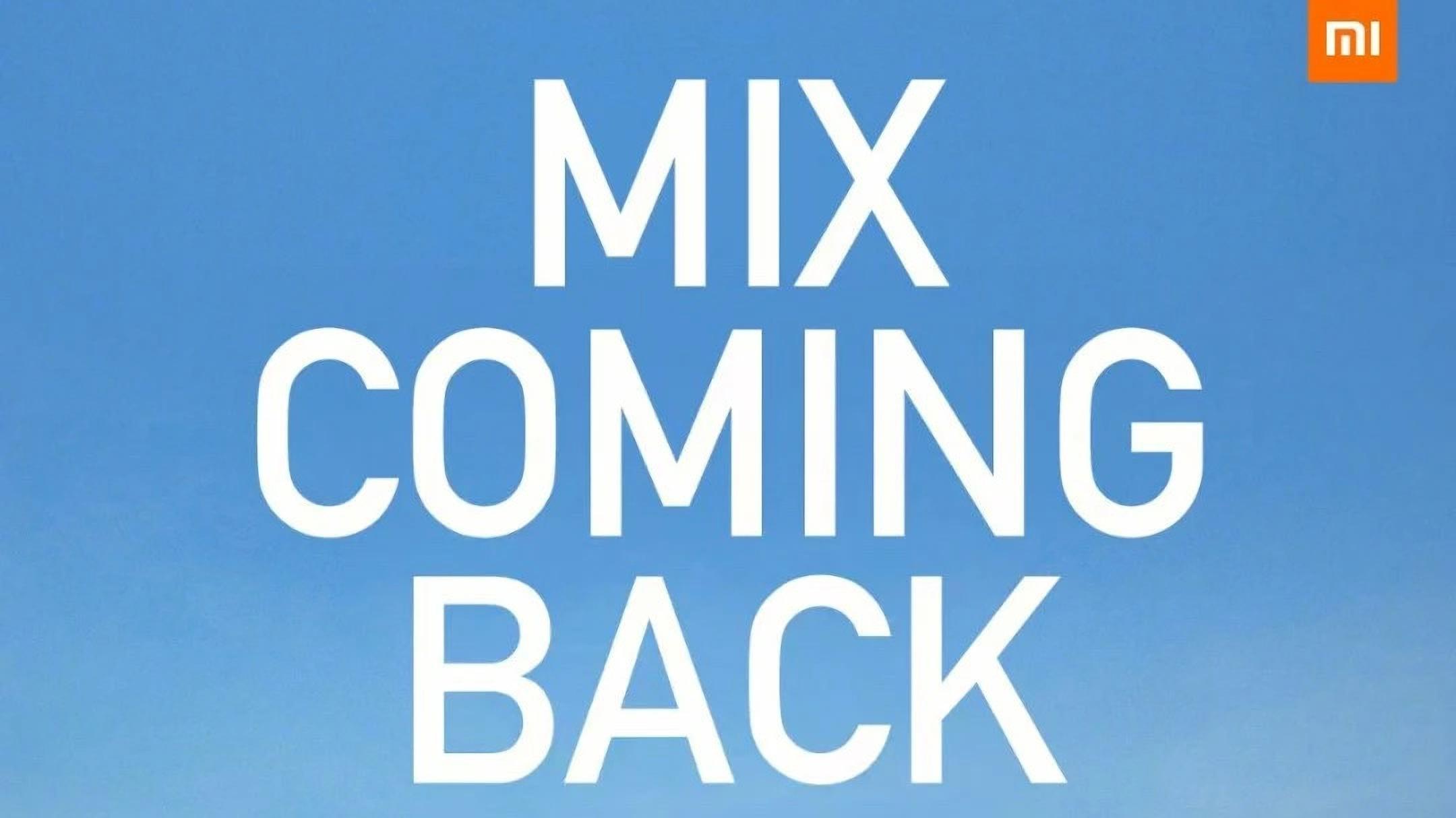 Nové Xiaomi Mi MIX dostane tekutou čočku fotoaparátu, dočkáme se jej 29. března