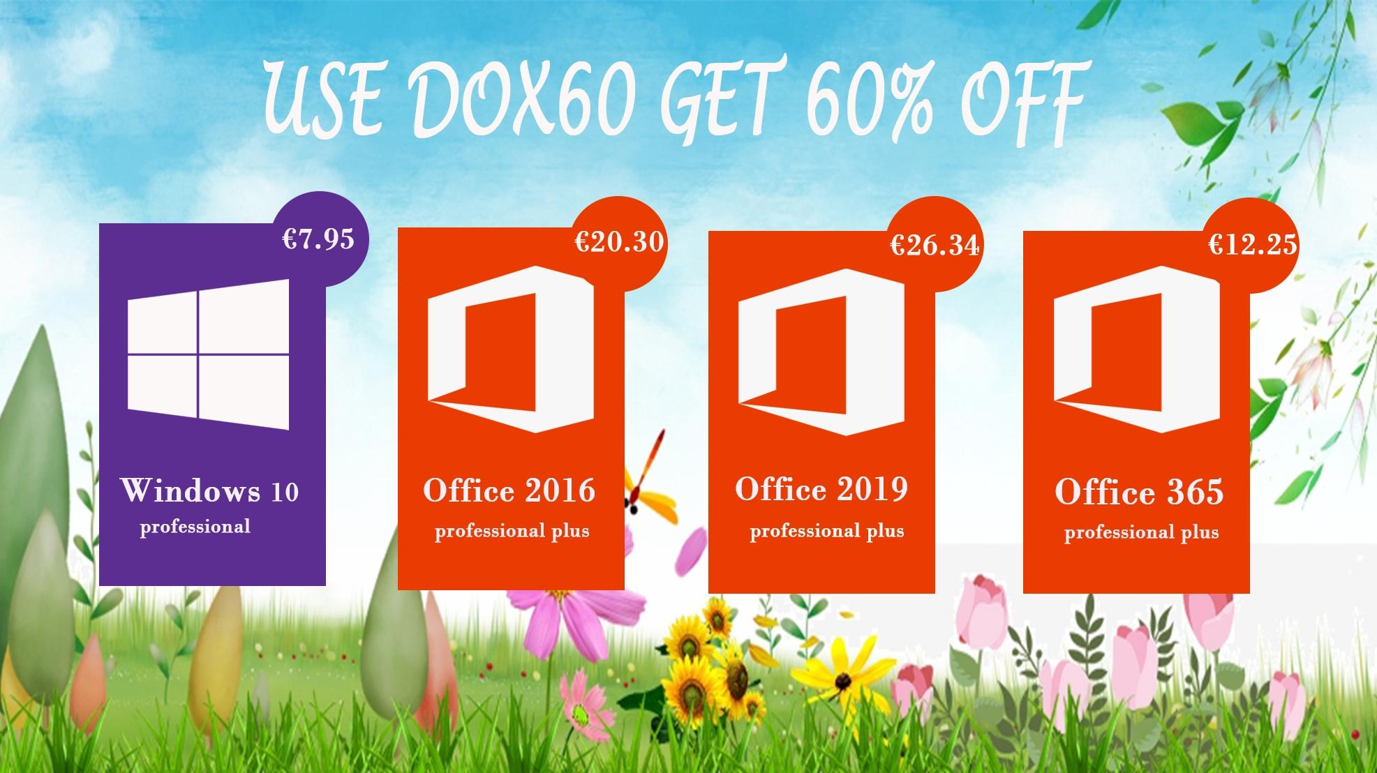 Windows 10 a kancelářský balíček Office až o 60% levněji [sponzorovaný článek]