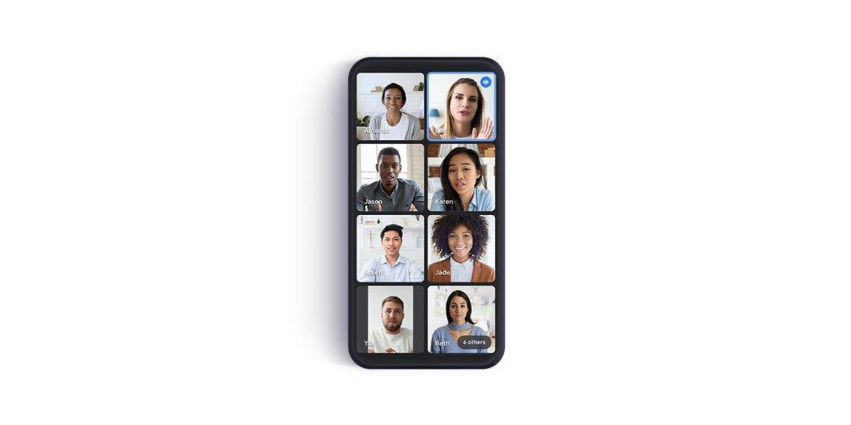 Google Meet představuje nové dlaždicové zobrazení