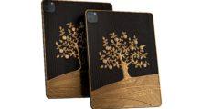 Caviar představil iPad Pro pokrytý 1 kg zlata a vyrytými citáty Steeva Jobse a Tima Cooka