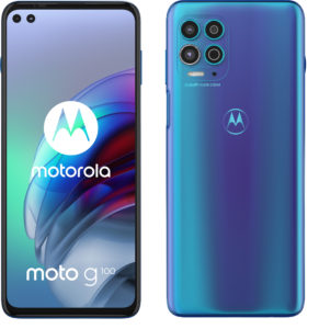 moto g100 Basic Pack Iridescent Ocean FRONT AND BACK 6847x7059x