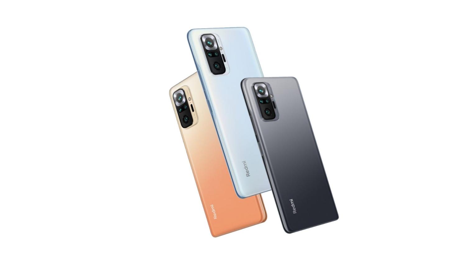 Redmi představilo Note 10, Note 10 Pro a Note 10 Pro Max