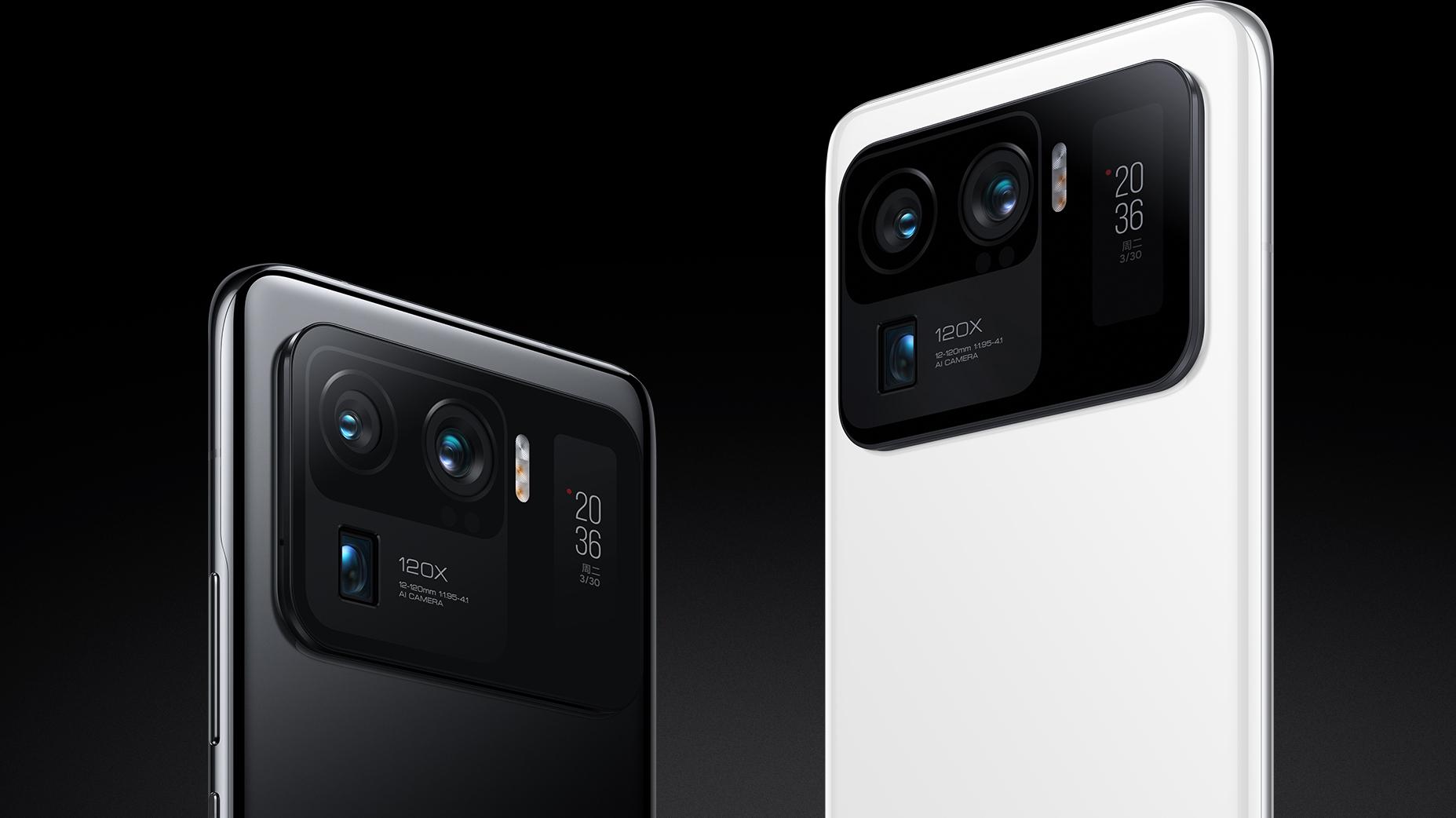 Xiaomi Mi 11 Ultra oficiálně, foťáky a IP68 v hlavní roli