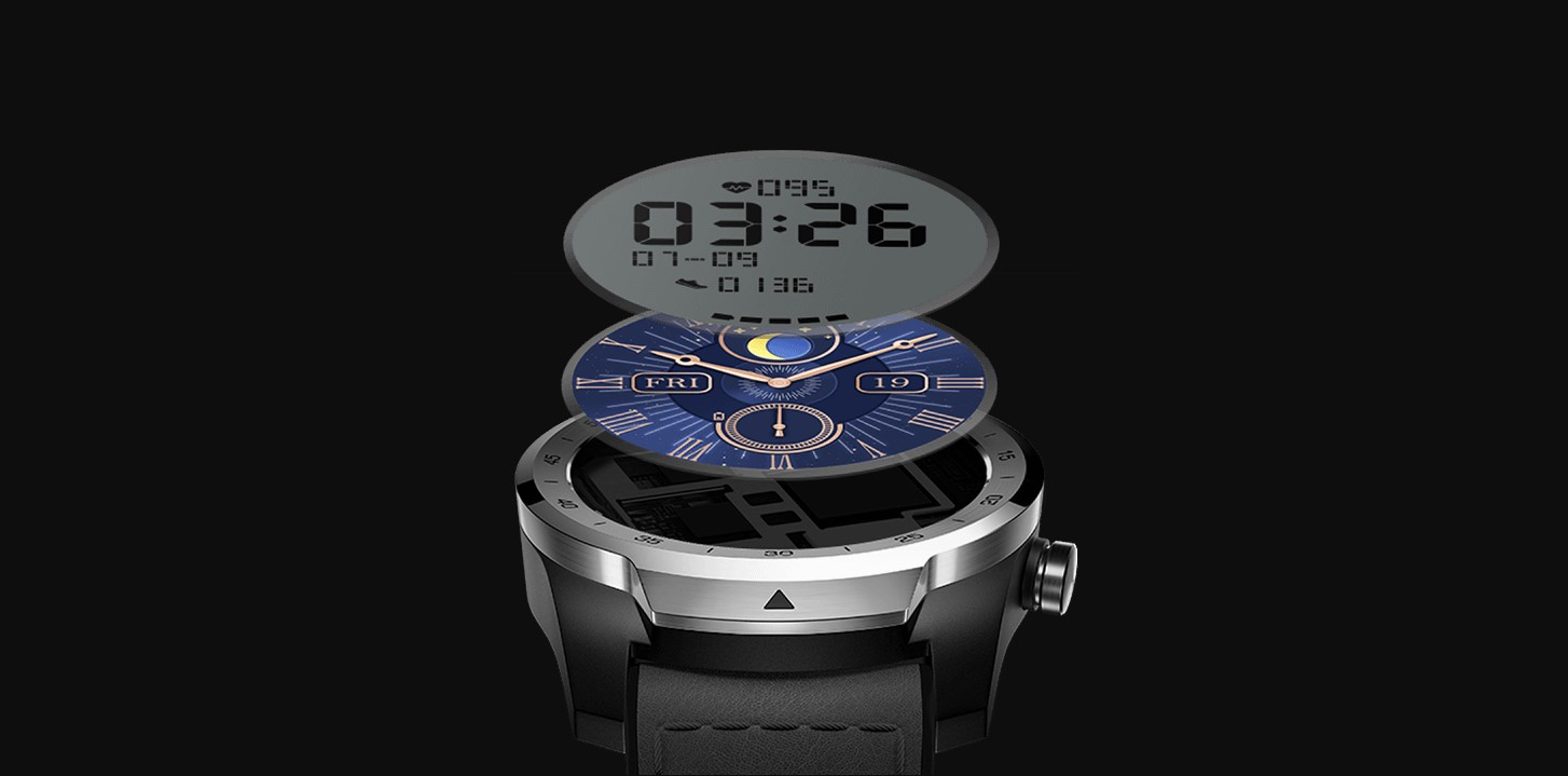 TicWatch Pro S jsou staré nové chytré hodiny