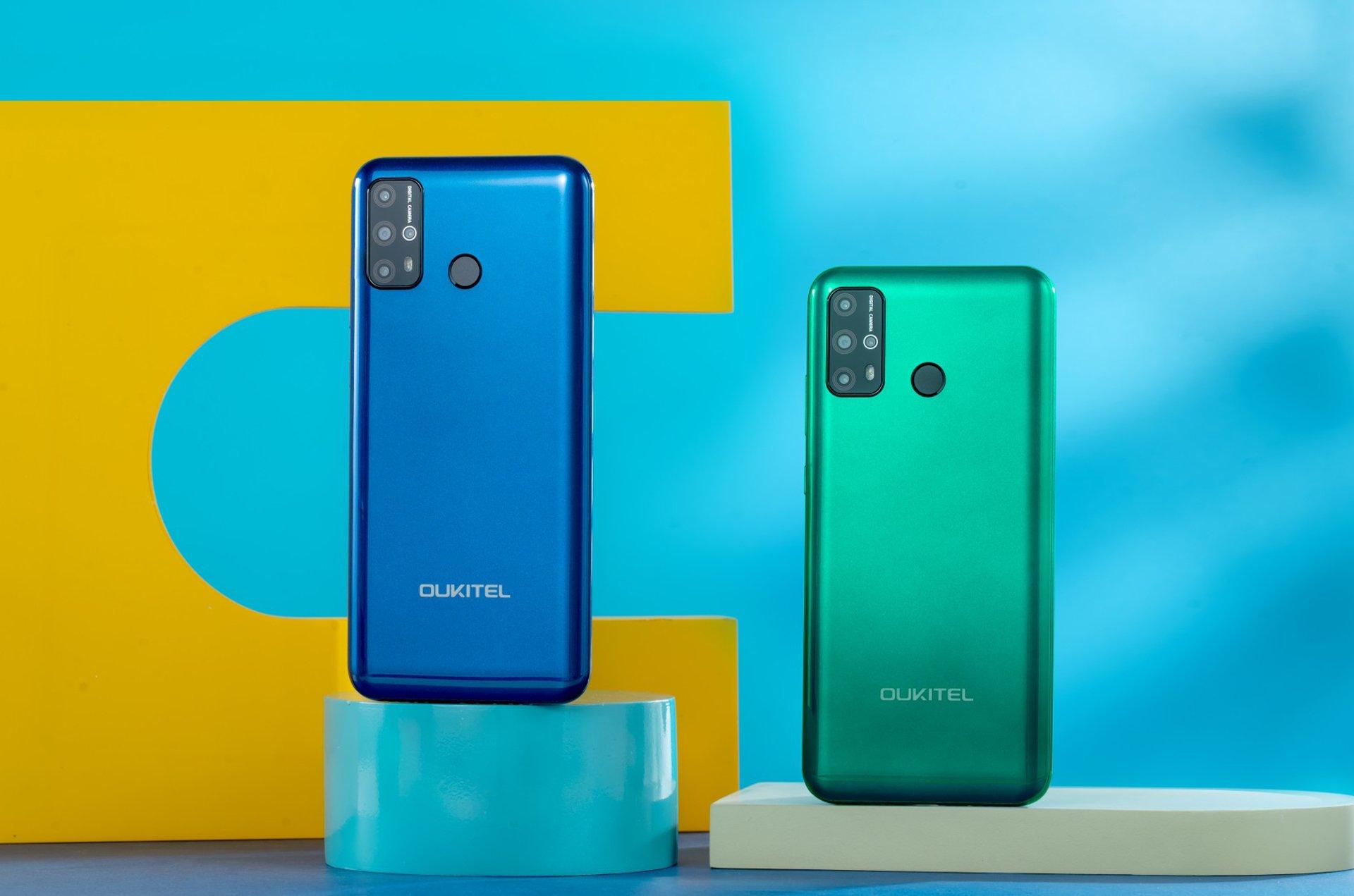 Oukitel oznámil cenově dostupný telefon C23 Pro