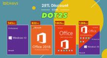 Přivítejte jaro nákupen třeba MS Office 2016 Pro s 25% slevou na Bobkeys.com! [sponzorovaný článek]