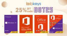 Využijte 25% slevu na veškerý software od Microsoftu na Bobkeys.com! [sponzorovaný článek]