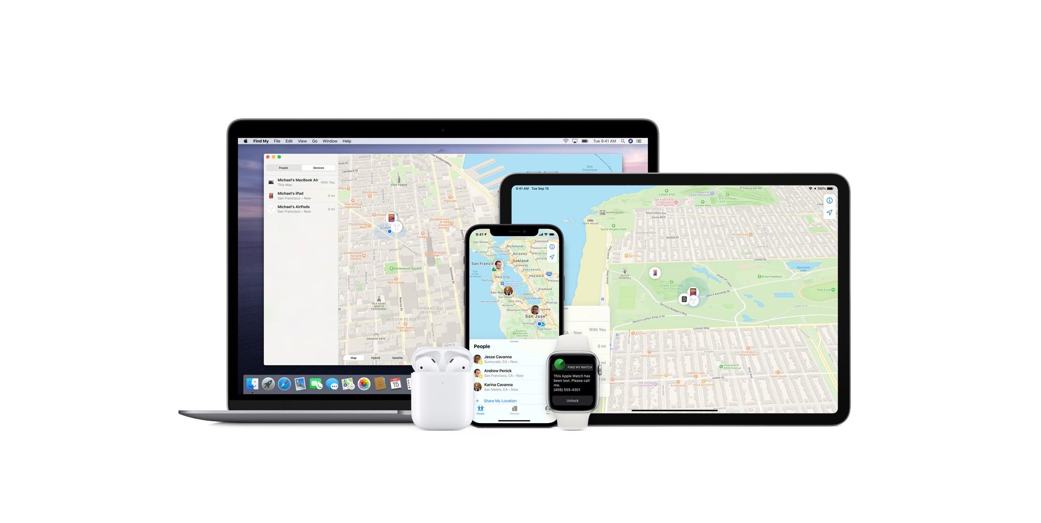 Apple oficiálně otevírá aplikaci Find My třetím stranám