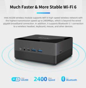 GMK NucBox2 i5 8259U 8G RAM 256G SSD Windows10 Mini PC 455771 12 1000x1024x
