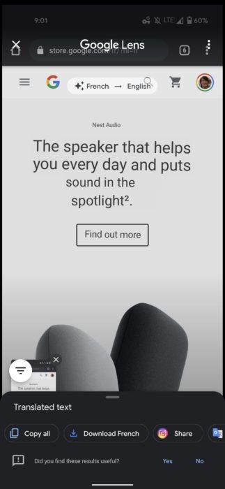 Google Lens translate screenshot 2 1080x2340x