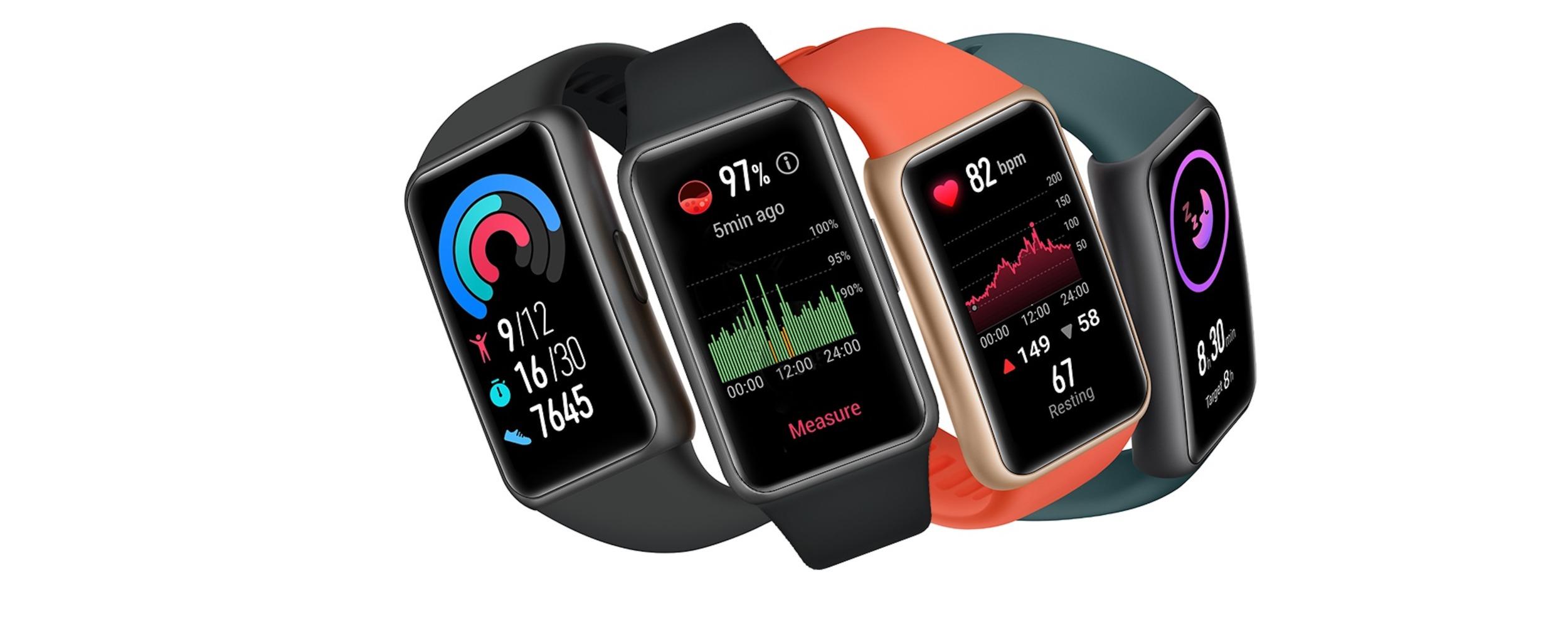 Huawei oficiálně uvádí hodinky Band 6