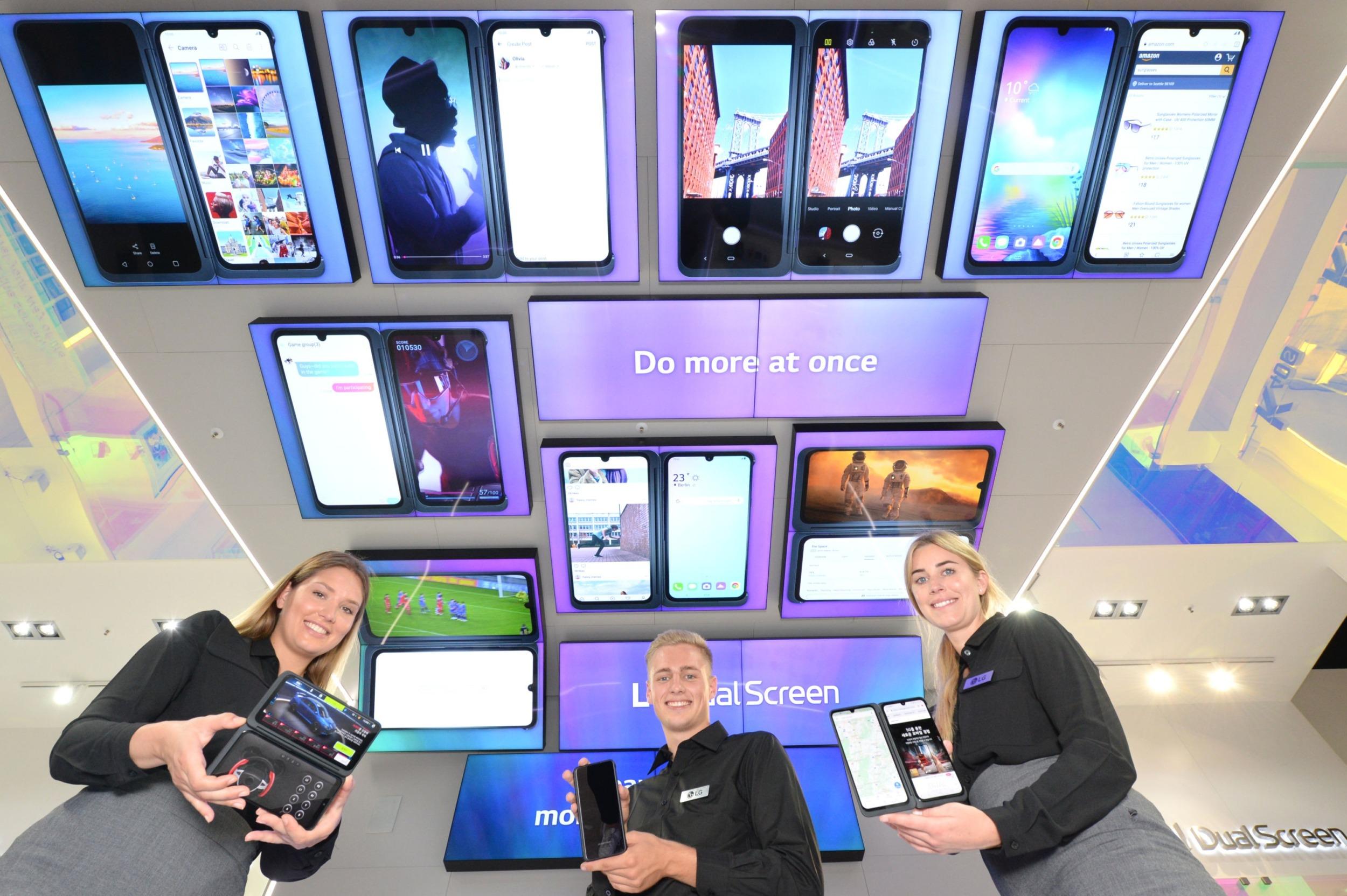 LG oficiálně končí se smartphony