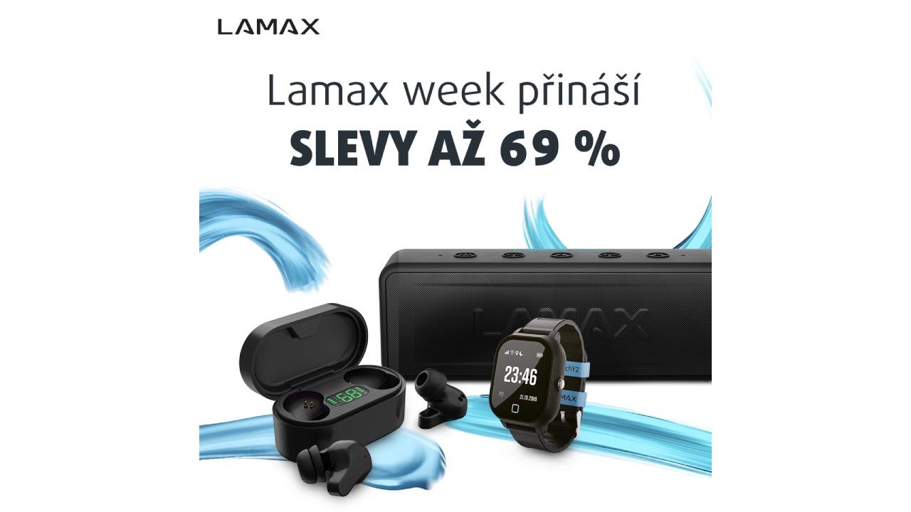 Lamax týden: slevy až ve výši 69 % [sponzorovaný článek]