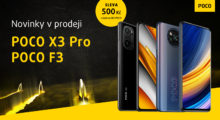 POCO F3 a X3 Pro se slevou a s dárkem zdarma[sponzorovaný článek]