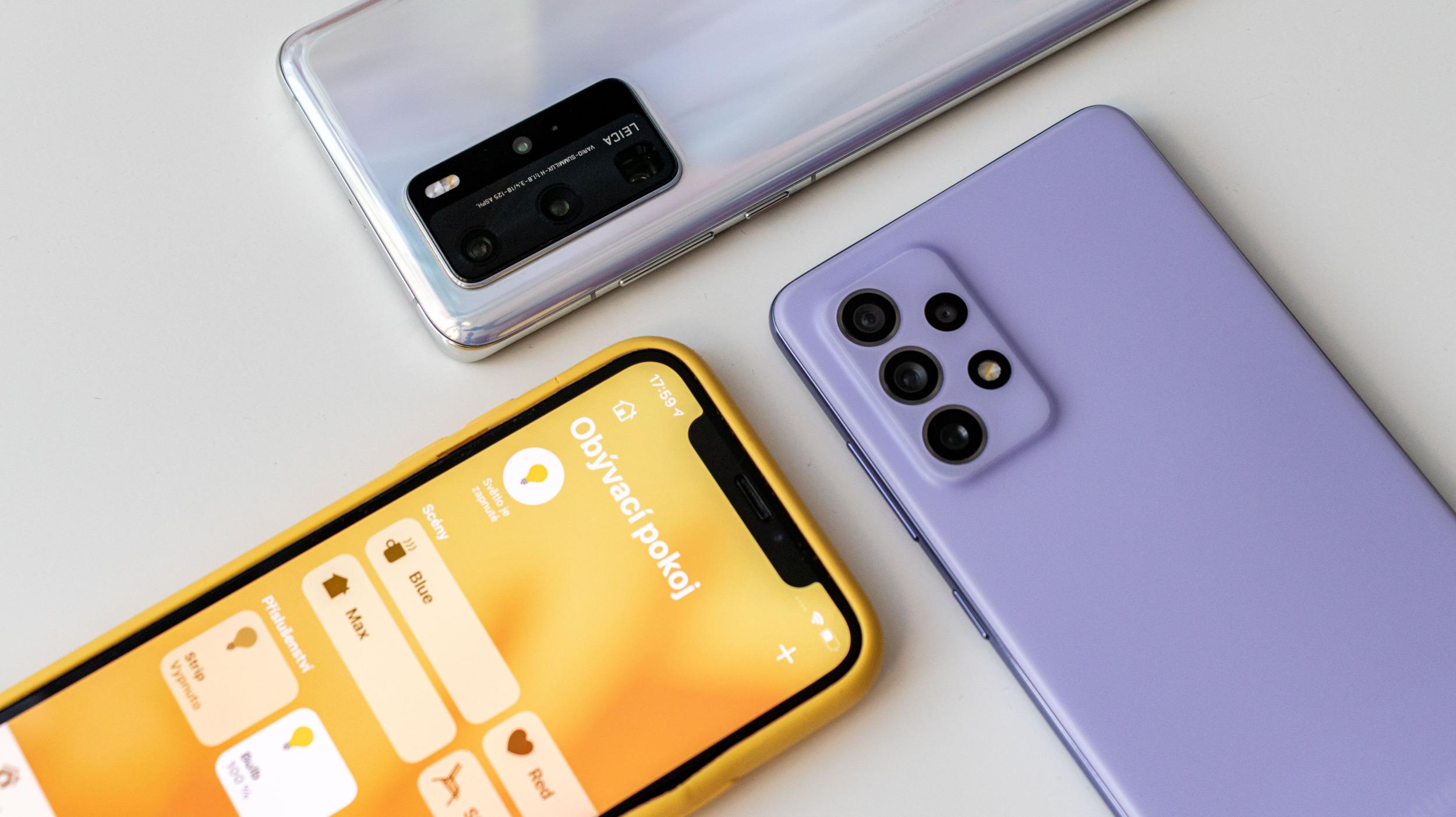 Česko: Huawei se propadá, skokanem je Realme