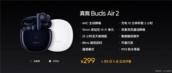 Realme Buds Air2 2 600x255x