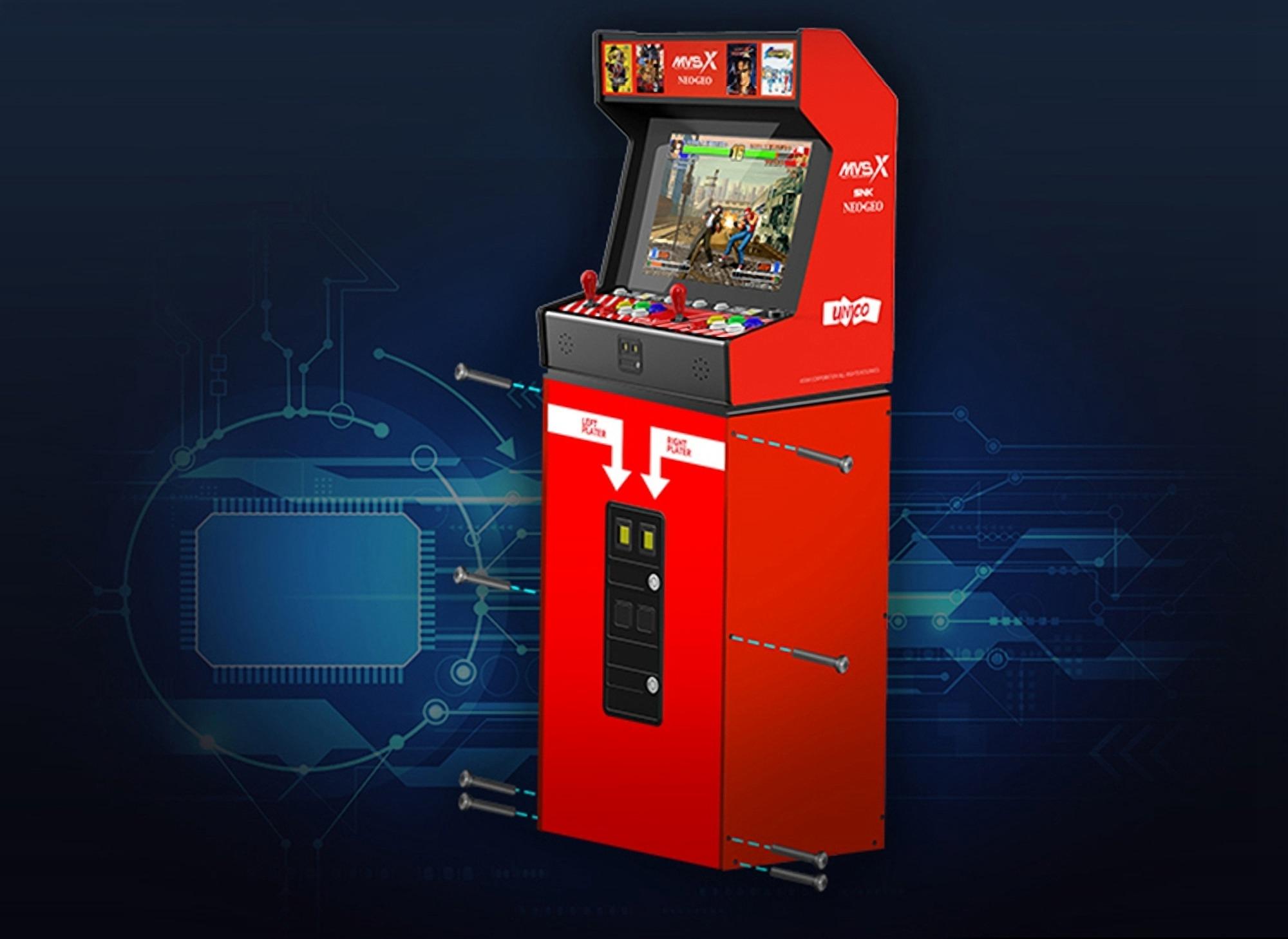Vraťte se do dětských let díky automatu s kaskádovými hrami SNK MVSX NEOGEO! [sponzorovaný článek]