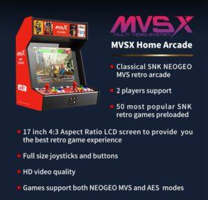 SNK MVSX Arcade Machine 50 SNK Classic Games 429680 2 1000x962x