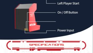 SNK MVSX Arcade Machine 50 SNK Classic Games 429680 4 1000x567x