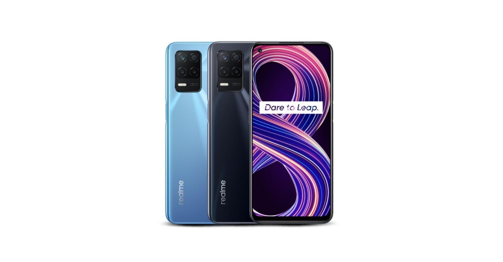Realme 8 se dočkalo verze s 5G