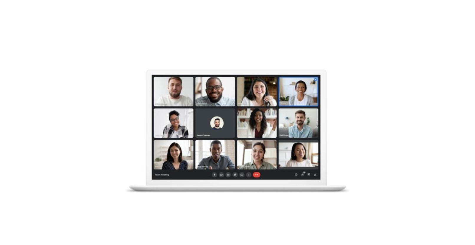 Google Meet projde nejen grafickou proměnou