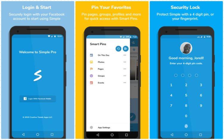 Simple Social Pro features 800x500x