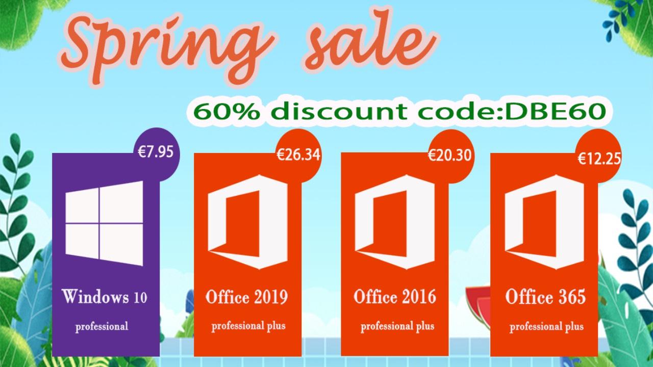 Softwarové akce: Windows 10 od 182 Kč, Office 2016 Pro od 542 Kč [sponzorovaný článek]