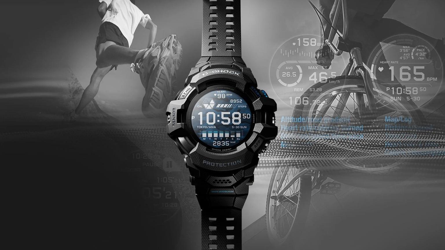 Casio G-Shock prvně s Wear OS od Googlu