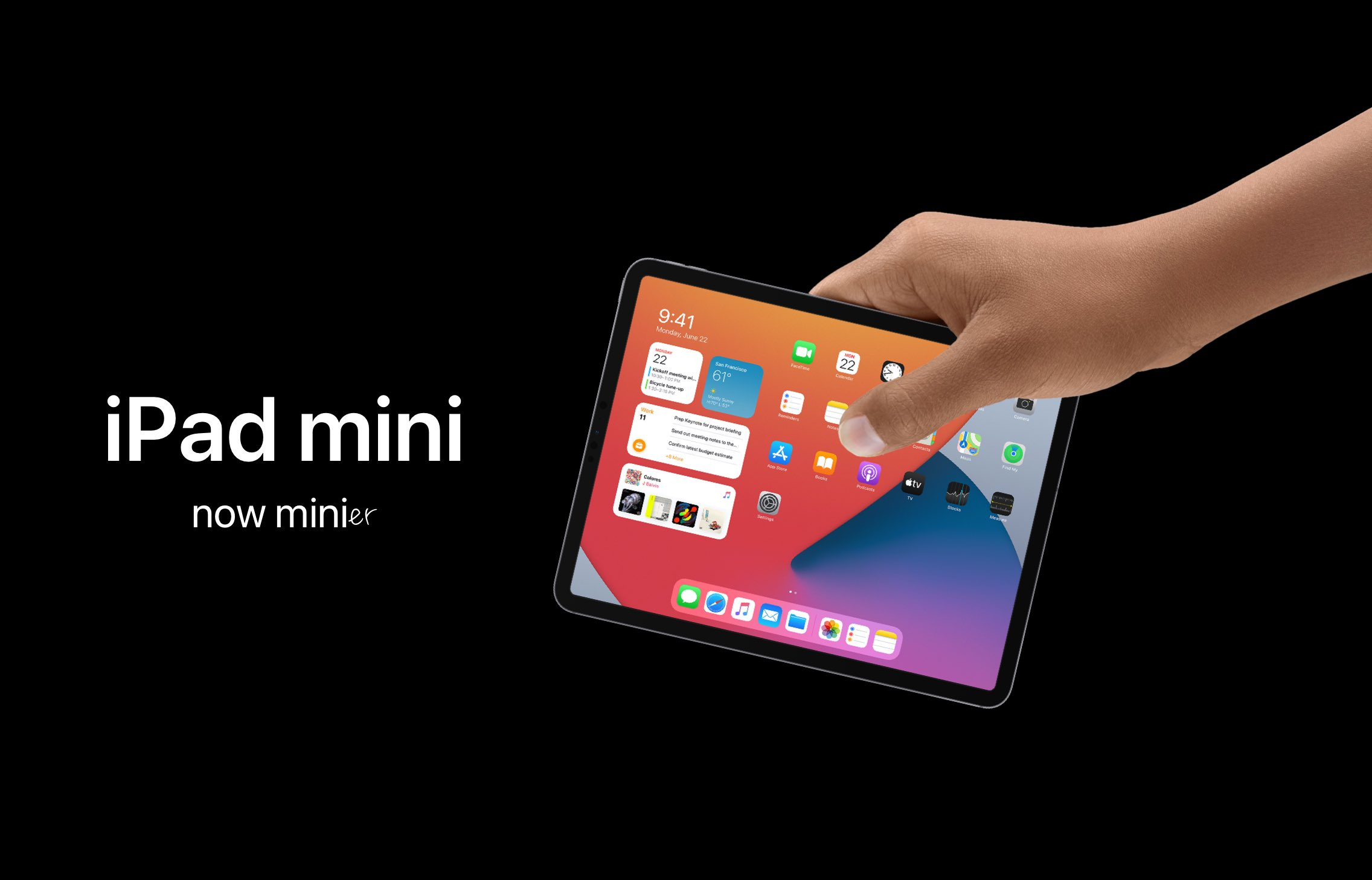 iPad mini 6 poprvé zachycen na fotografiích