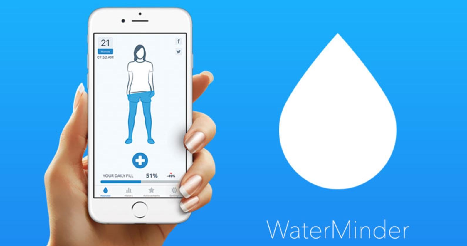 Aplikace WaterMinder nyní s podporou sledování příjmu kofeinu a integrací v Apple Health