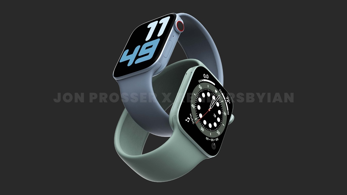 Apple Watch Series 7 ve velmi omezeném množství, pokud vůbec