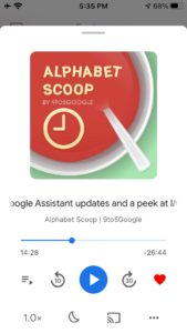 Google Podcasts recommendations 2 640x1136x